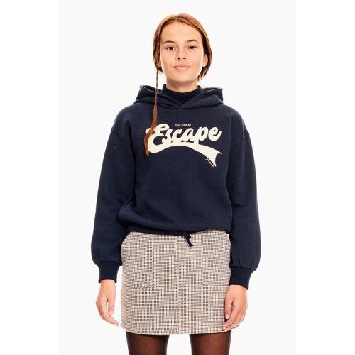Garcia Sweater mit Zugband, navy