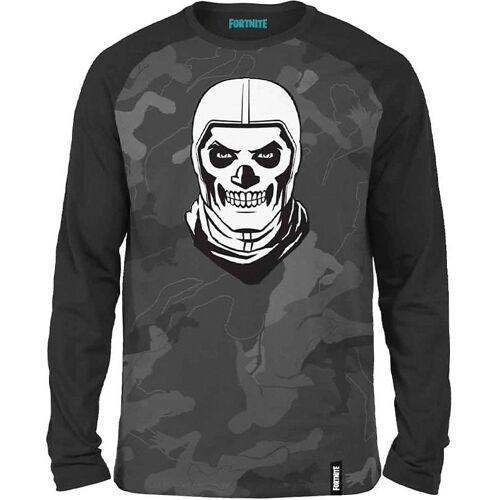 Fortnite Sweatshirt »Sweatshirt Skull Trooper bl/turq 176cm«, grau