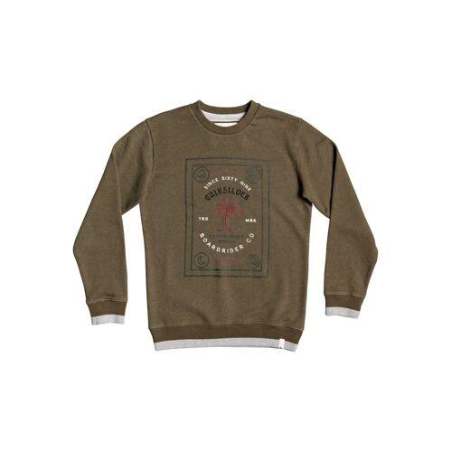 Quiksilver Sweatshirt »Bad Liar«, grün