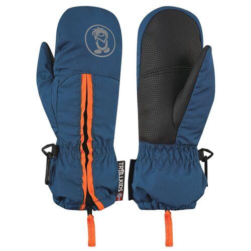 TROLLKIDS Skihandschuhe »Troll« Wasserdicht, Mystik Blau / Orange