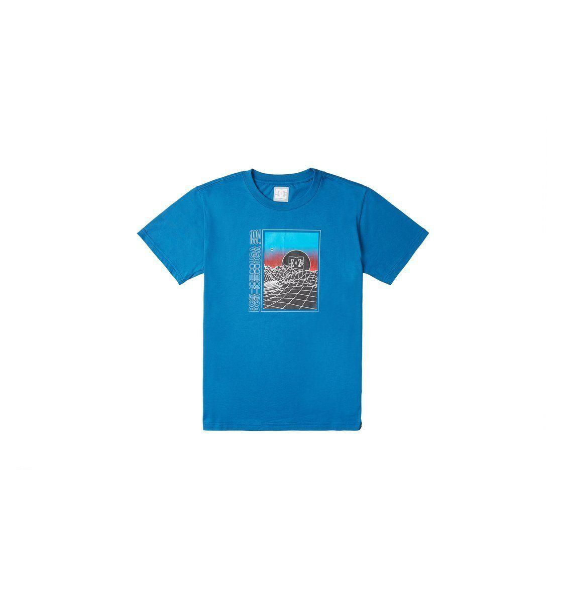 DC Shoes T-Shirt »Gridlock«, blau