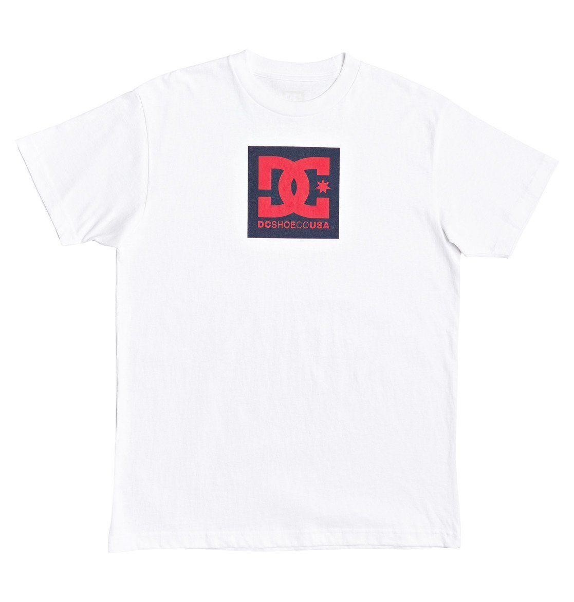 DC Shoes T-Shirt »Square Star«, weiß