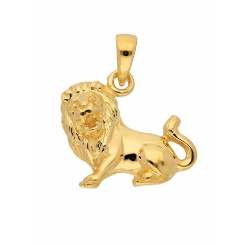 Adelia´s Kettenanhänger »585 Gold Sternzeichen Anhänger Löwe«