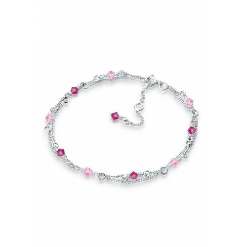Elli Armband »Kristalle 925 Sterling Silber«, Kristall Armband