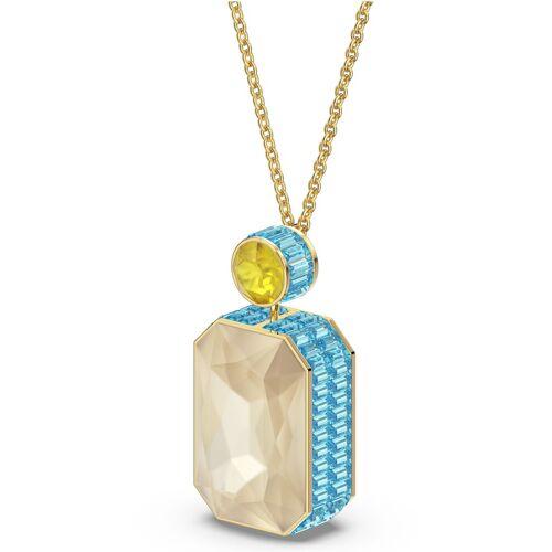 Swarovski Kette mit Anhänger »Orbita Halskette, Kristall im Octagon-Schliff, 5600516«, mit ® Kristall