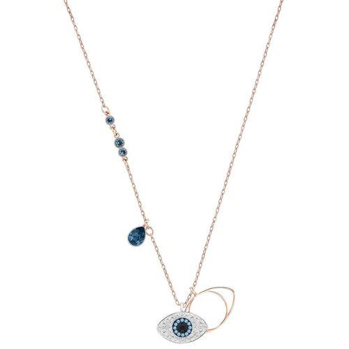 Swarovski Kette mit Anhänger »Magisches Auge, DUO EVIL EYE, METALLMIX, 5172560«, mit ® Kristallen