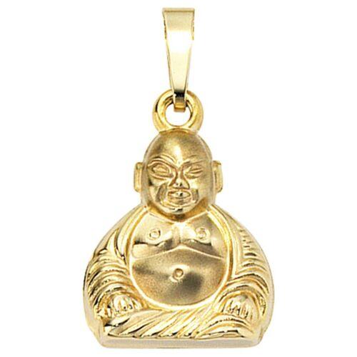 Jobo Kettenanhänger »Buddha«, 333 Gold