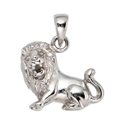 Jobo Sternzeichenanhänger, Sternzeichen Löwe 925 Silber