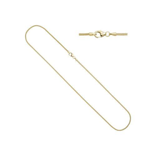Jobo Goldkette, Schlangenkette 333 Gold 50 cm 1,4 mm