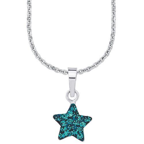 Amor Kette mit Anhänger »Stern, 9294541«, mit Kristallglassteinen