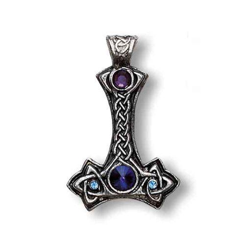 Adelia´s Amulett »Nordische Lichter Talisman«, Thor's Hammer - Persönlicher und psychischer Schutz