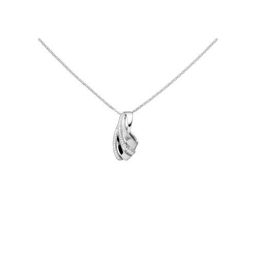 Jobo Collier, 925 Silber mit 36 Zirkonia 45 cm