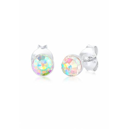 Elli Paar Ohrstecker »Ohrstecker Basic Kristalle 925 Silber«
