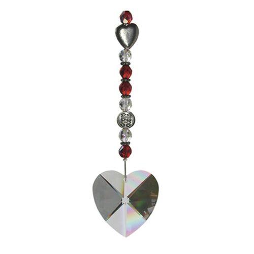 Adelia´s Amulett »Feng Shui Sonnenfänger«, Das Kristallherz - Liebe und Harmonie