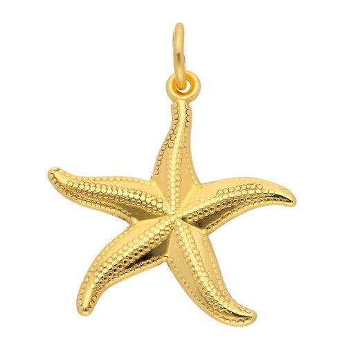 Adelia´s Kettenanhänger »333 Gold Anhänger Seestern«