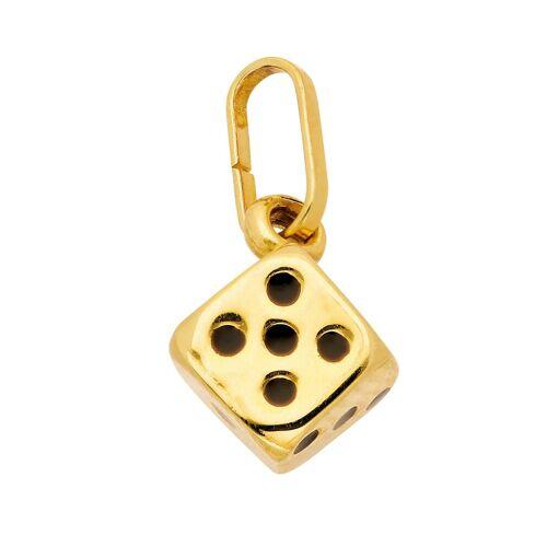 Adelia´s Kettenanhänger »333 Gold Anhänger Würfel«