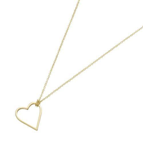 Luigi Merano Goldkette »mit Herz-Anhänger, Gold 375«