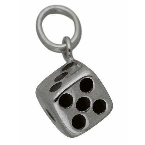Adelia´s Kettenanhänger »925 Silber Anhänger Würfel«
