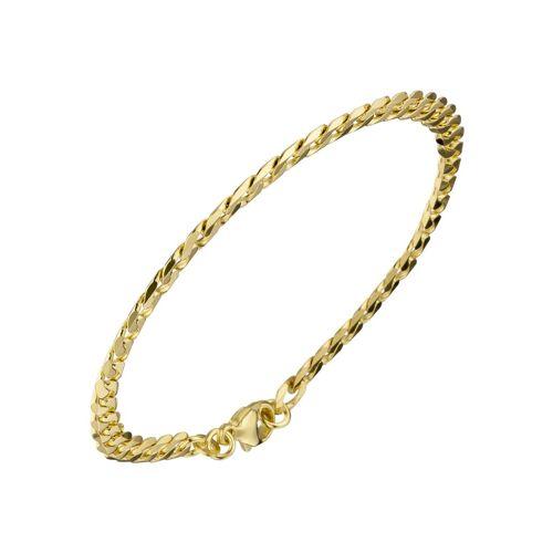 Jobo Goldarmband, Panzerarmband 333 Gold 19 cm