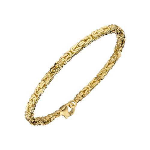 Jobo Goldarmband, Königsarmband 585 Gold 19 cm