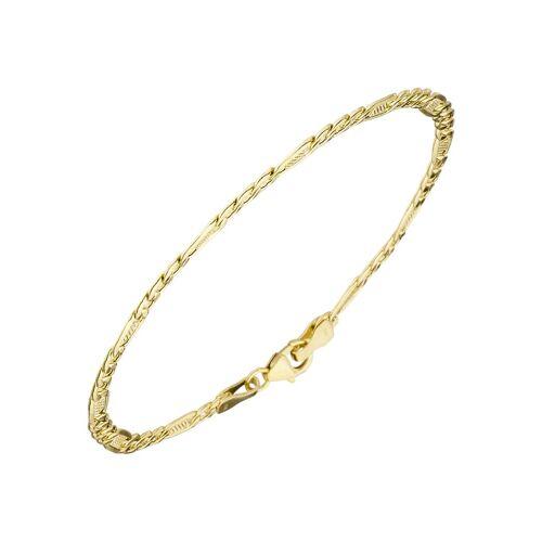 Jobo Goldarmband, 333 Gold 19 cm