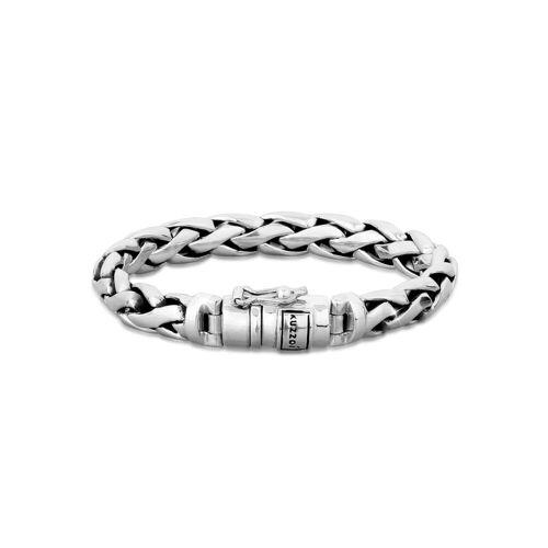 Kuzzoi Armband »Herren Gliederarmband Robust Rund 925 Silber«