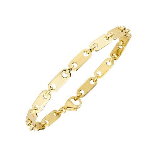 Jobo Goldarmband, 585 Gold 21 cm
