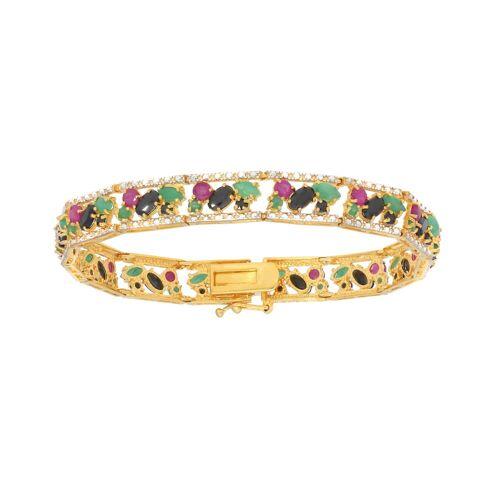 Vivance Armband »Rubin Smaragd Saphir«