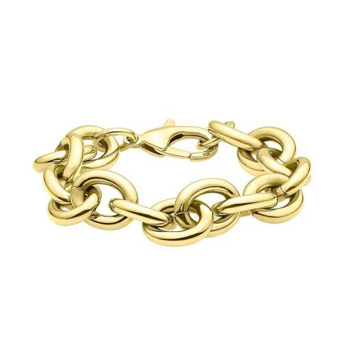 Heideman Armband »Gliederarmband«, Panzerarmband passend zur Gliederkette, vergoldet