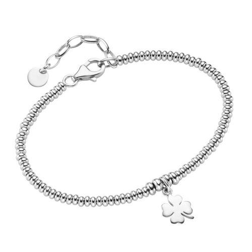 Smart Jewel Armband »Kleeblatt, Silber 925«