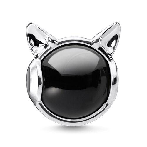THOMAS SABO Bead »Katzenohren silber, K0328-024-11«, mit Onyx