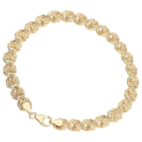 Luigi Merano Armband »Rosenkette, Gold 333«