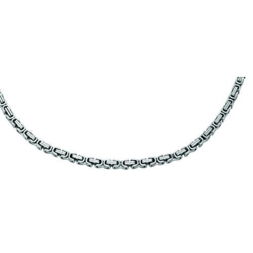 Adelia´s Armband »Edelstahl Königskette Armband 21 cm«, Königskette Edelstahlschmuck für Herren