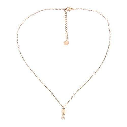 leslii Halskette mit Karabiner-Verschluss, gold