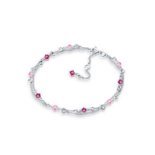 Elli Armband »Swarovski Kristalle 925 Sterling Silber«, Kristall Armband