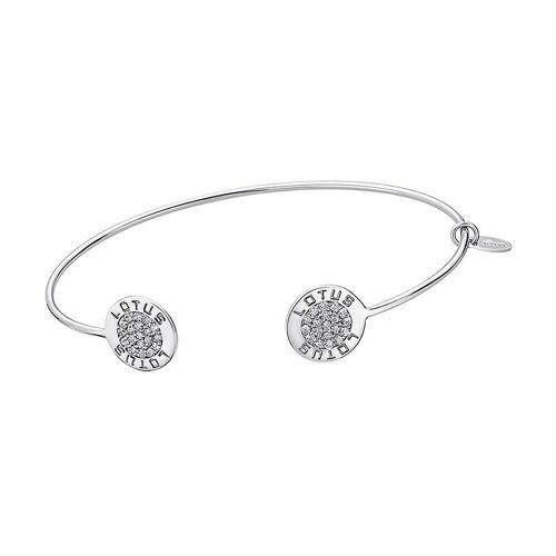 Lotus SILVER Armspange »JLP1252-2-1 Circle Armspange« (Armspangen), Armspangen für Damen 925 Sterling Silber, silber