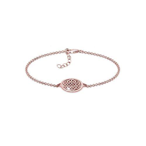 Elli Armband »Lebensblume 925 Sterling Silber«, Lebensblume, Rosegold