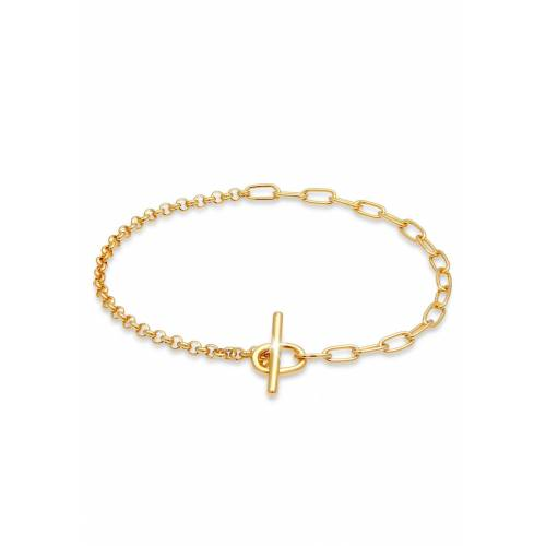 Elli Armband »Bettelarmband Charmträger 925 Silber«, Bettelarmband, Gold