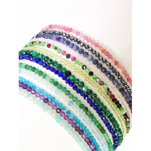 Adelia´s Armband »Rubin Zoisit Armband 19 cm«