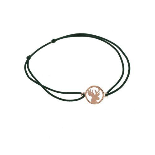 Adelia´s Armband »Armband - Hirsch - 925 rosé Silber«