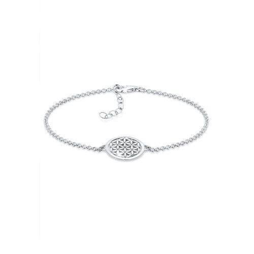 Elli Armband »Lebensblume 925 Sterling Silber«, Lebensblume, Silber