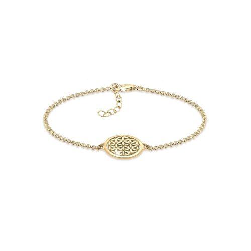 Elli Armband »Lebensblume 925 Sterling Silber«, Lebensblume, Gold