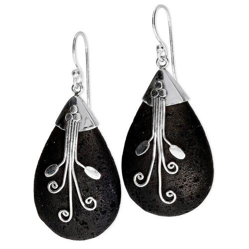 Adelia´s Paar Ohrhänger »Lava Ohrschmuck Ohrhänger - 925 Silber«