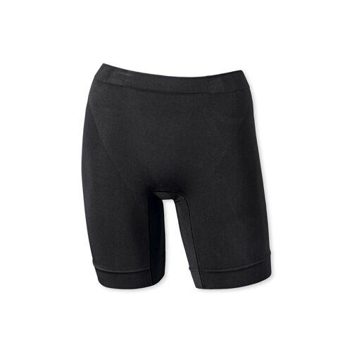 Schiesser Panty »Damen Longshorts - Shapewear, Pants, Unterhose,«, Schwarz