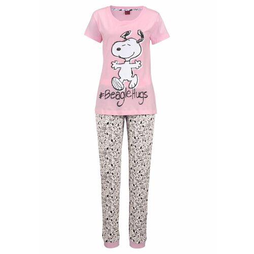 Peanuts Pyjama mit Snoopy-Print in L-Größen
