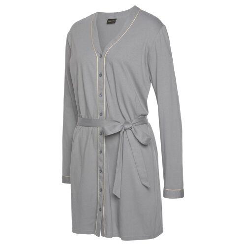 LASCANA Nachthemd, grau