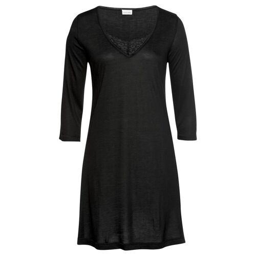 LASCANA Nachthemd, schwarz