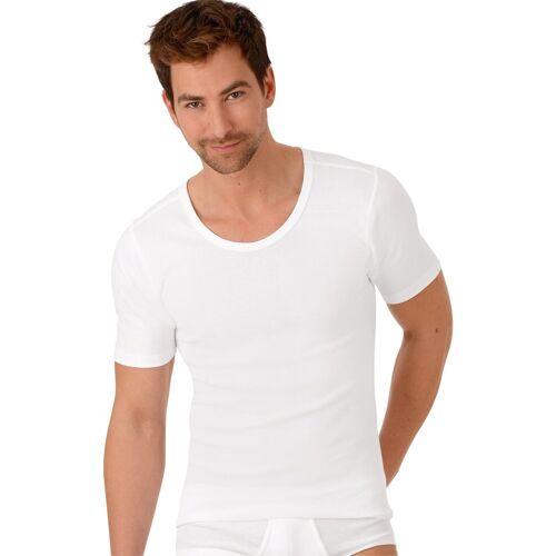 Trigema Halbarm-Unterhemd Bio im Doppelpack, weiss