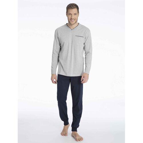 seidensticker Pyjama »Bündchen-Pyjama«