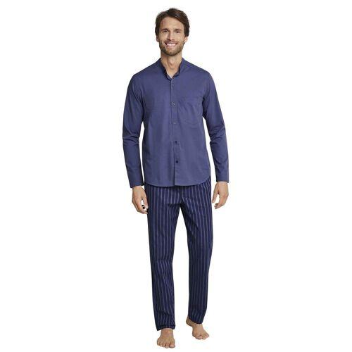 seidensticker Pyjama »Web-Pyjama durchgeknöpft«